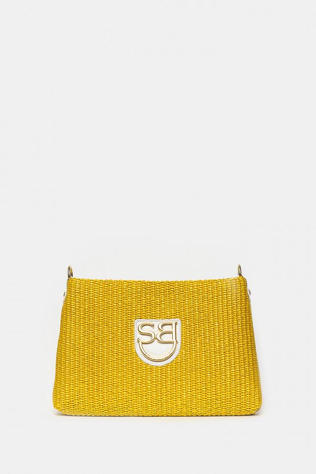 Клатч Sara Burglar желтый - 895A2