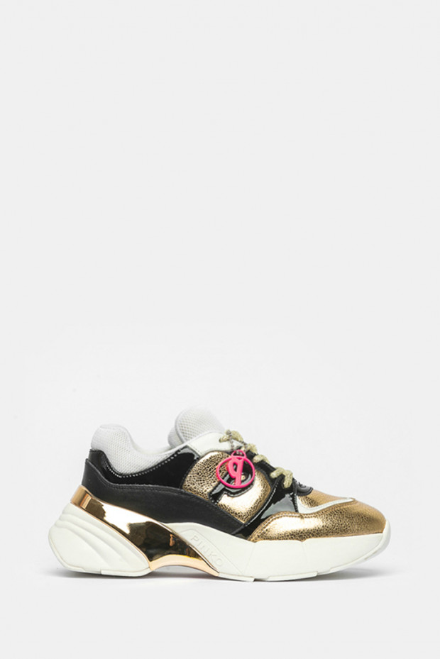Кроссовки Pinko золото - P21_HZ2