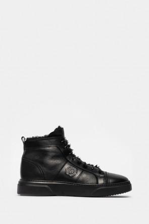 Кеды Luca Guerrini черные - 11146