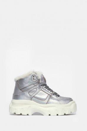 Ботинки Colors of California серебро - 11SL