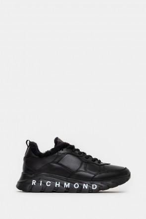 Мужские кроссовки John Richmond черные - JR12259n