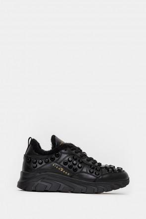 Женские кроссовки John Richmond черные - JR12363n