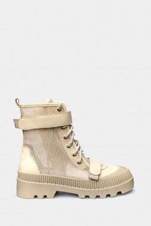 Ботинки Genuin Vivier бежевые - 20246