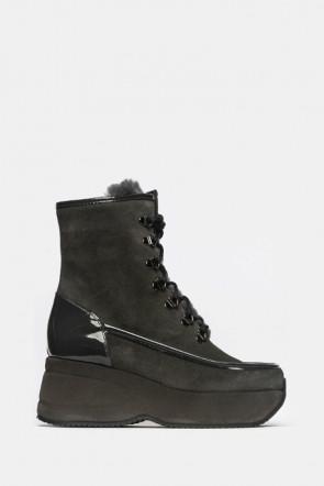 Ботинки  Kelton серые - 1916