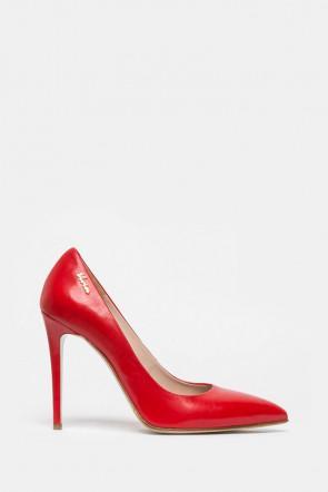 Туфли Genuin  Vivier красные - 201119r