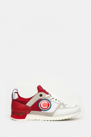 Кроссовки Colmar красные - 201a1