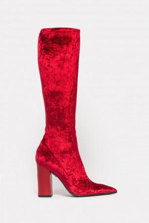 Сапоги Jeu de Femme красные - fermi