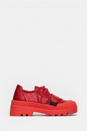 Туфли Genuin Vivier красные - 20245r