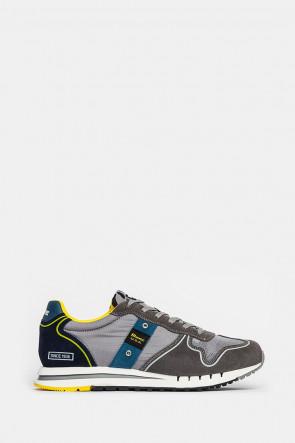Кроссовки Blauer USA серые - quartzGR