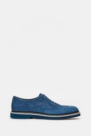 Броги Gianfranco Butteri синие - 35084
