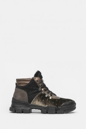 Ботинки L4K3 коричневые - 352a
