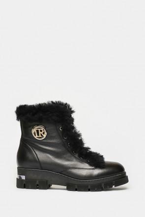 Ботинки Ilasio Renzoni черные - 3554