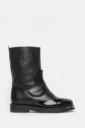 Ботинки Giovanni Fabiani черные - 3740