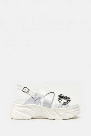 Босоножки Jeannot белые - 40051w