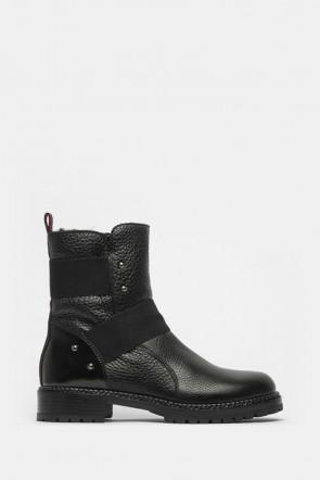 Ботинки Laura Bellariva черные - 4063