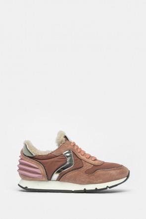 Кроссовки Voile Blanche розовые - 4324r