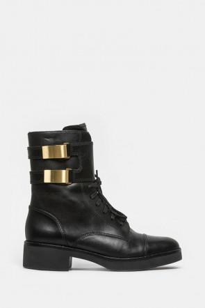 Ботинки What For черные - 440a1