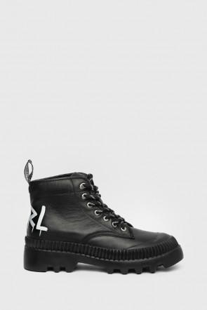 Ботинки Karl Lagerfeld черные - 45230n