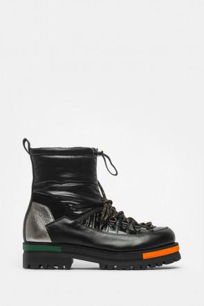 Ботинки Laura Bellariva черные - 4523Lb
