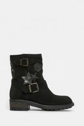 Ботинки Meline черные - 51a1