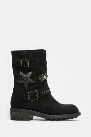 Ботинки Meline черные - 52a1
