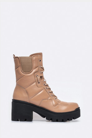 Ботинки Genuin Vivier бежевые - 5511k