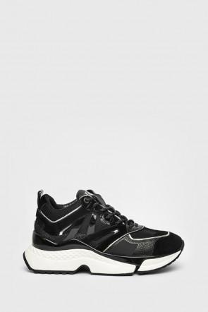 Кроссовки Karl Lagerfeld черные - 61635n