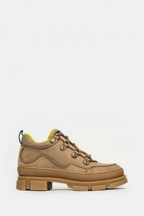 Ботинки Stokton бежевые - 631DC