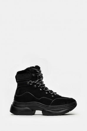 Кроссовки Stokton черные - 633D
