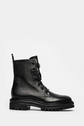 Ботинки Uma Parker черные - 7096