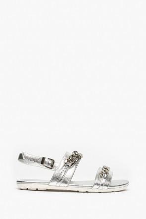 Босоножки Massimo Santini серебро - 7112401