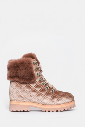 Ботинки Massimo Santini розовые - 7242_112