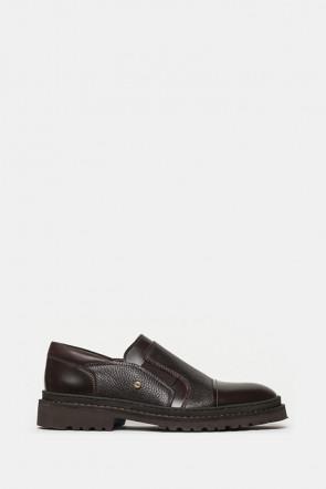 Туфли LAB Milano коричневые - 7720_m