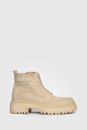 Ботинки Genuin Vivier бежевые - 77320b
