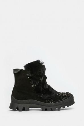 Ботинки Marzetti черные - 7839md01