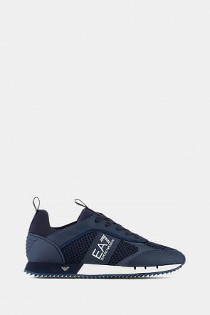 Кроссовки Emporio Armani синие - 8027bl