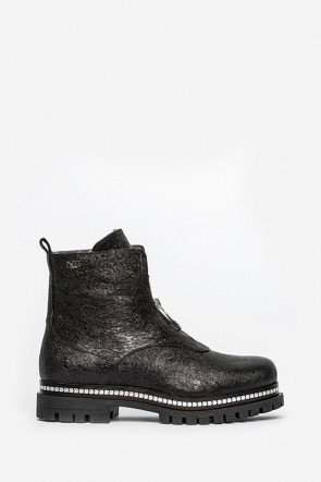 Ботинки Norma JB черные - 8060_n