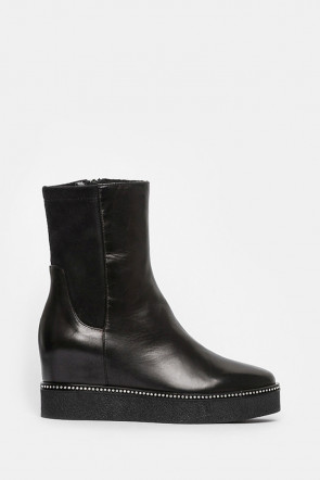 Ботинки Ma Lo черные - 9118_l