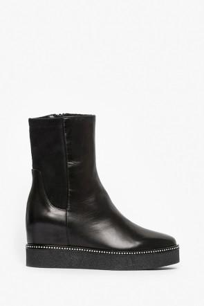 Ботинки Ma Lo черные - 9118_m