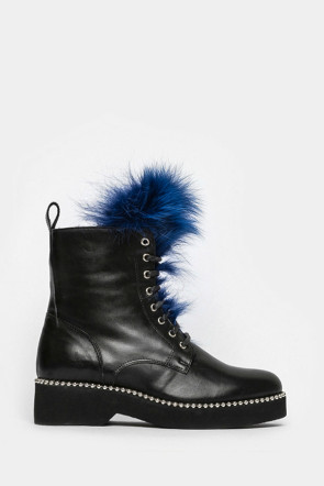 Ботинки Ma Lo черный-9163