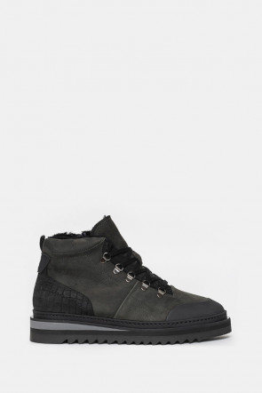 Ботинки Gianfranco Butteri серые - 93581