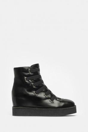 Ботинки Ma Lo черные - 9414m