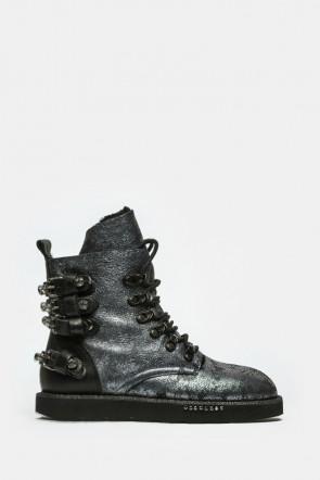 Ботинки Mimmu серебро - bedtry4