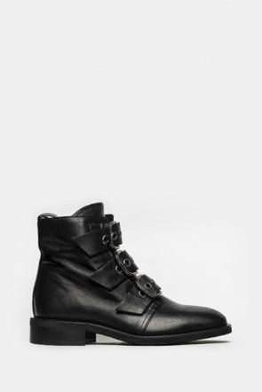 Ботинки Mimmu черные - ER901