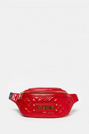 Сумка Love Moschino поясная красная - 4206r