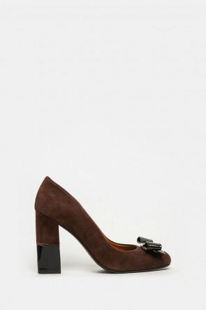 Туфли Vittorio Virgilli коричневые - 9012
