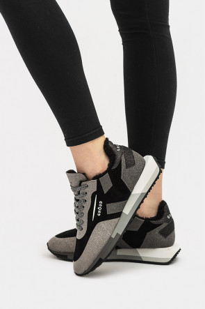Женские кроссовки Ghoud черные - GHx36