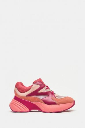 Кроссовки Pinko розовые - H20_YN1