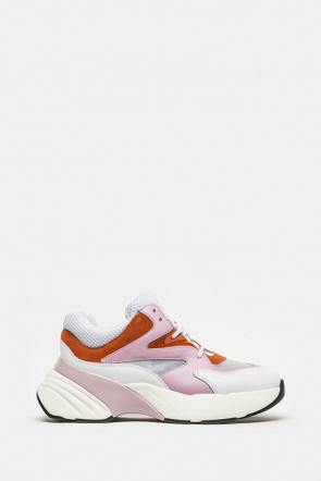 Кроссовки Pinko розовые - H20_ZKL