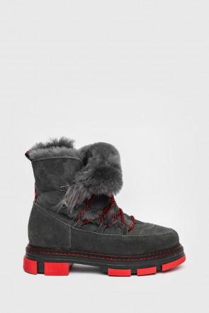 Ботинки Nila and Nila серые - H20c